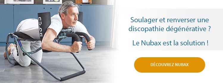 Nubax: pour la Discopathie