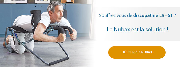 Nubax pour la discopathie L5-S1