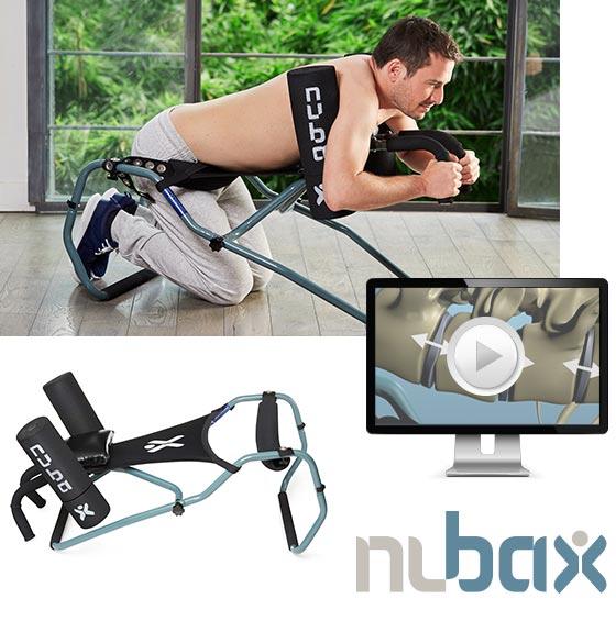 Nubax: soulager l'arthrose du dos