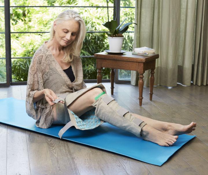 Soulager les jambes sans repos