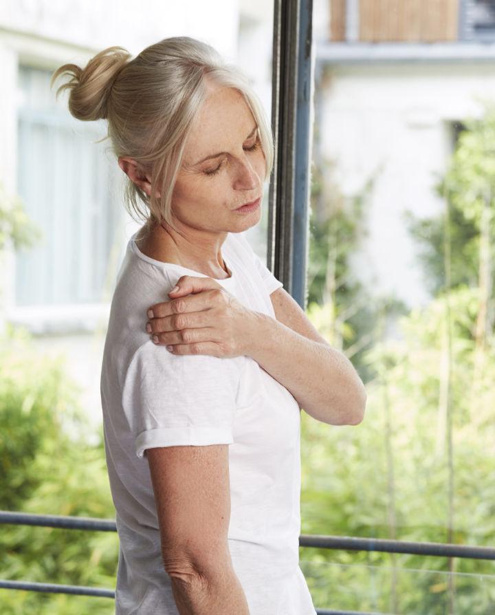 Soulager la tendinite de l'épaule